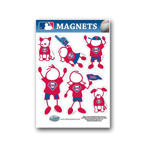 Siskiyou Family Magnet Set - MLB Philadelphia Phillies