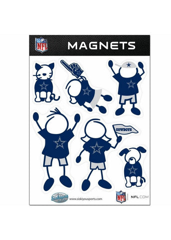 Family Magnets - Dallas Cowboys