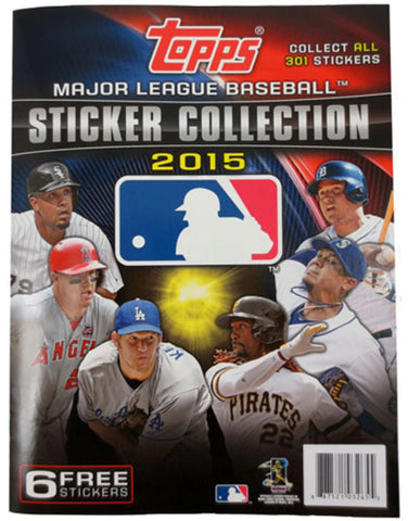 2015 Topps MLB Individual Sticker Album