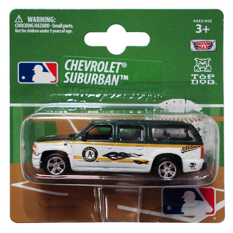 Top Dog 1:64 Chevy Suburban - MLB Oakland Athletics
