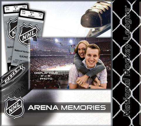 Multi Team NHL Ticket Scrapbook