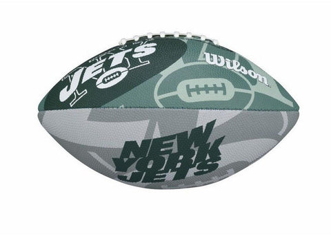 Wilson Junior Logo Football NFL New York Jets