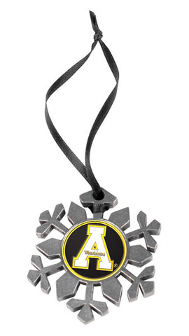 Appalachian State Mountaineers - Snow Flake Ornament