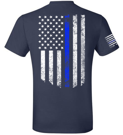 Thin Blue Line   First Responder - Danger Close Apparel - Military Shirts - First Responder - Patriotic - Gadsden