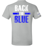 Back the BLUE - First Responder Tee - Danger Close Apparel - Military Shirts - First Responder - Patriotic - Gadsden