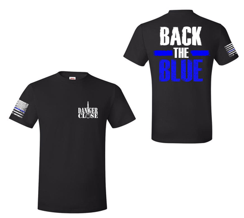 Back the BLUE - First Responder Tee