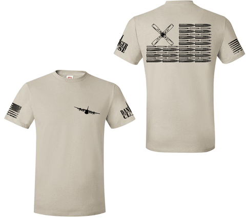 AC-130H Bullet Flag - Premium Tee - LIMITED SUPPLY
