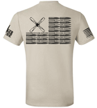 AC-130H Bullet Flag - Premium Tee - LIMITED SUPPLY - Danger Close Apparel - Military Shirts - First Responder - Patriotic - Gadsden