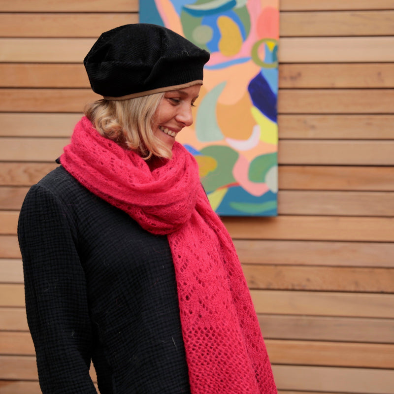 Blouse triple gaze de coton unies - Capucine - Quintessence