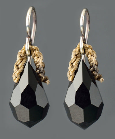 Night or Day Earrings - Black - by On U Jewelry