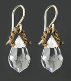 Night or Day Earrings - Crystal - by On U Jewelry