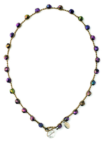 Dot Necklace - Large Bead - Holiday!