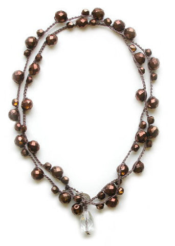Michelle - Antique Bronze - On U Jewelry