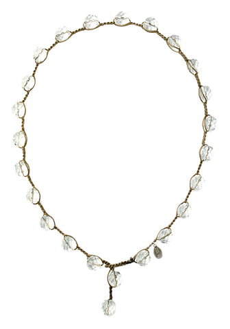 on u jewelry - Crystal Bubble Necklace