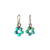 on u jewelry - Circle of Life Earrings - Turquoise