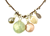 Isn't It Charming Necklace - Mystic version -by Donna Silvestri, On U Jewelry