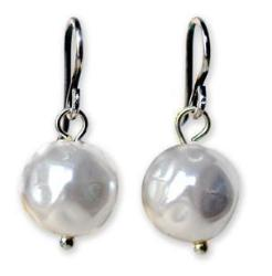 Michelle Pearl Earrings - On U Jewelry