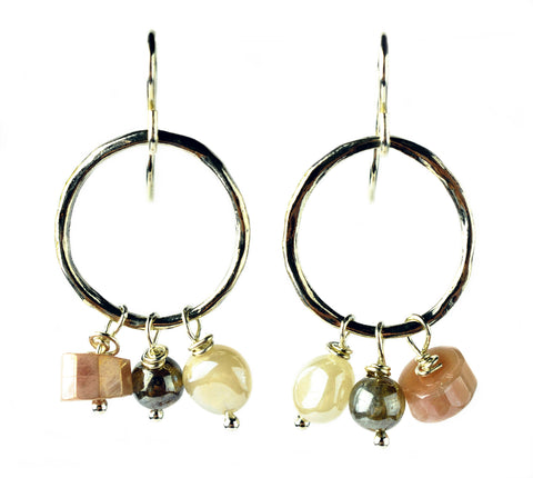 Mystic Earrings  by Donna Silvestri, On U Jewelry, Richmond, Virginia
