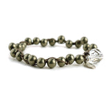 Why Knot - Pyrite - On U Jewelry - 1