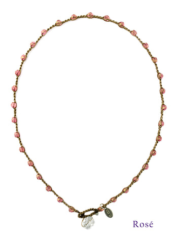 on u jewelry - Small Bead Dot - Rosé