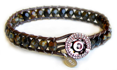 Gatsby - Tigers Eye - On U Jewelry