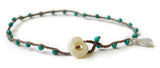 Dot - Semi-Precious Turq - On U Jewelry - 1
