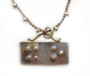 Braille & Forged - Hug & Kiss - On U Jewelry - 1