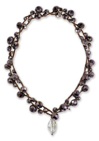 Michelle - Gunmetal - On U Jewelry - 1