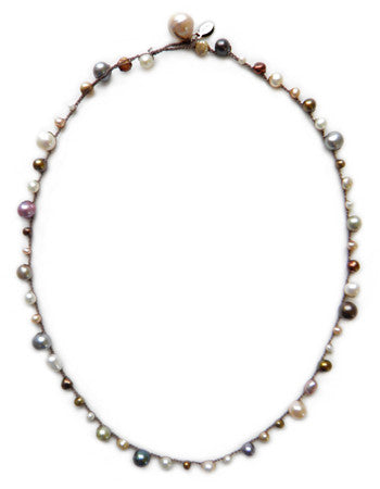 Pearl Maggie Necklace - On U Jewelry