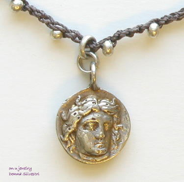 Roman Coin Drop - On U Jewelry