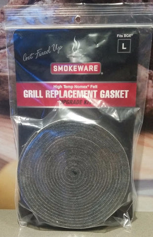Smokeware High-Temp (Nomex) Felt Grill Gaskets for BGE - BBQing.com