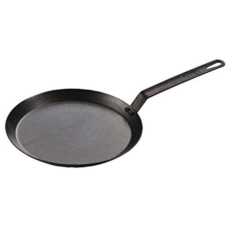 "Lodge 11"" Seasoned Steel Griddle CRSGR11"