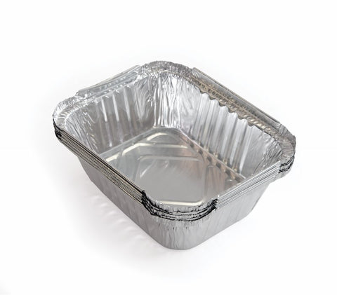 Grease Trays - Pack of 5 (14.7cm x 12.2cm) - BBQing.com - 1
