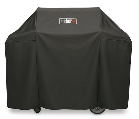 WEBER PREMIUM GRILL COVER-Genesis II and Genesis II LX 300 series gas grills, and Genesis 300 series gas grills. - BBQing.com