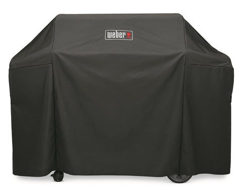 WEBER PREMIUM GRILL COVER- Genesis II and Genesis II LX 400 series gas grills - BBQing.com