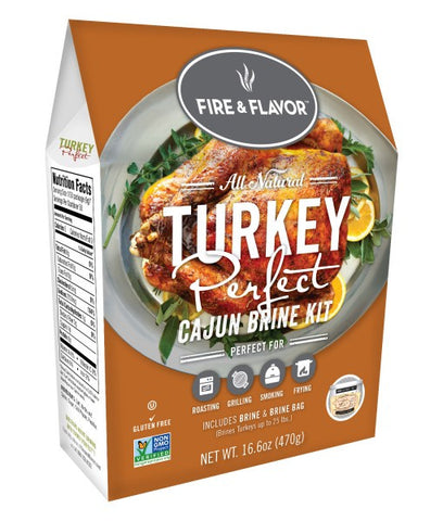 Turkey Perfect Cajun Brine Kit - BBQing.com