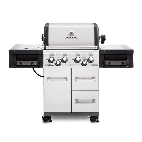 Broil King Imperial 490 with Side Burner - BBQing.com - 1