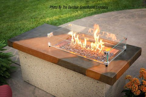 Outdoor GreatRoom ARTISAN FIRE PIT TABLE - BBQing.com