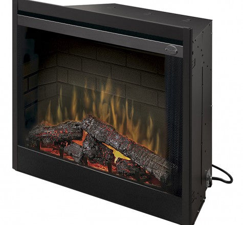 "Dimplex 39"" Deluxe Built-in Electric Fireplace - BBQing.com"
