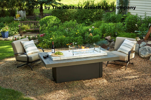 Outdoor GreatRoom BOARDWALK FIRE PIT TABLE - BBQing.com