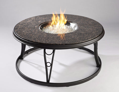 "Outdoor GreatRoom 42"" Granite Fire Pit Table - BBQing.com - 1"
