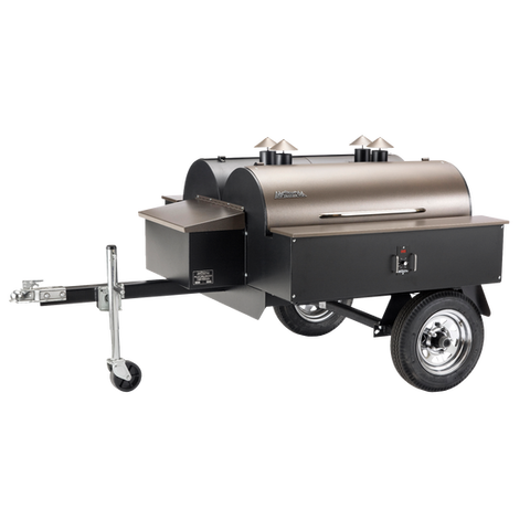 Traeger Commercial Double Barrel Trailer - BBQing.com