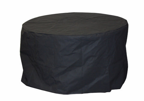 "Outdoor GreatRoom 23"" Round Vinyl Fire Pit Cover for Tripod Fire Pit - BBQing.com"