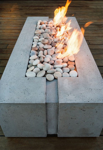 Dekko Avera 60 Concrete Fire Trough - BBQing.com