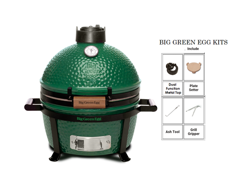 BIG GREEN EGG (MiniMax) Kit