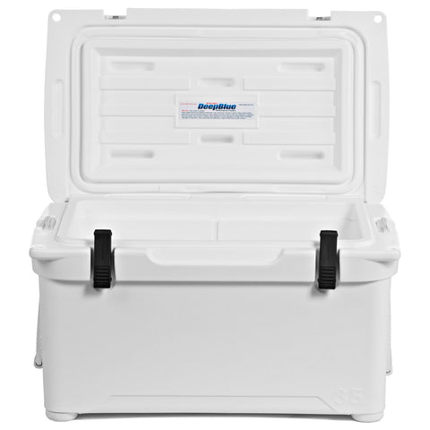 ENGEL 35  Deep Blue  Performance Cooler (White)