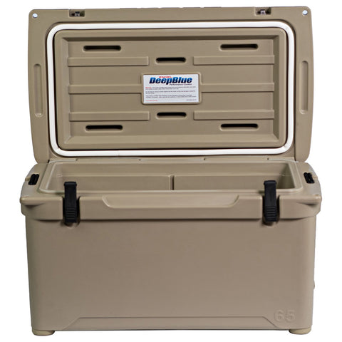 ENGEL 65  Deep Blue Performance Cooler (Tan)