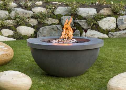 "Solus 48"" Fire Bowl - Natural Gas DISPLAY ONLY - BBQing.com"