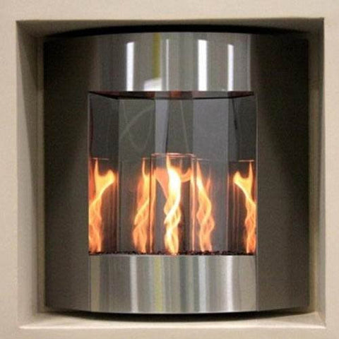 Inspiration - Gel Fuel Fireplace (stainless steel) - BBQing.com