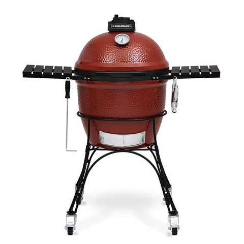 "Kamado Joe Classic 18"" w/ Cradle & shelves - BBQing.com"